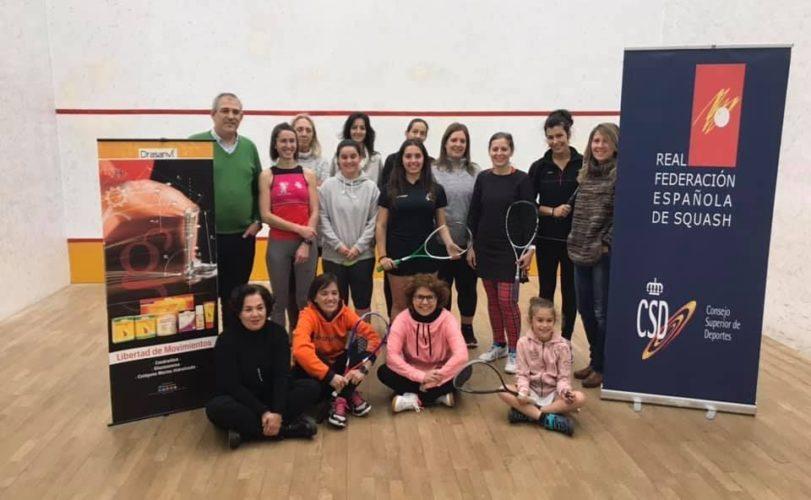 Seminario squash y mujer 2019