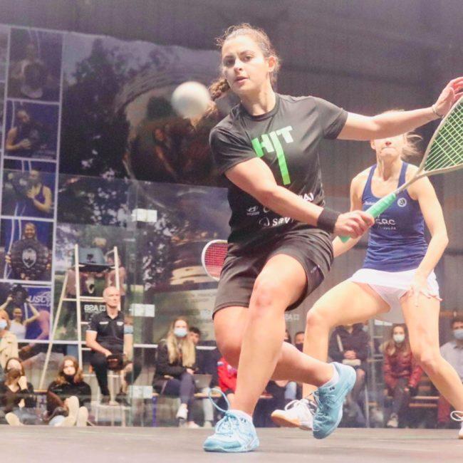 Cristina Gómez, campeona del PSA Val de Marne, primer título internacional para la jugadora de squash