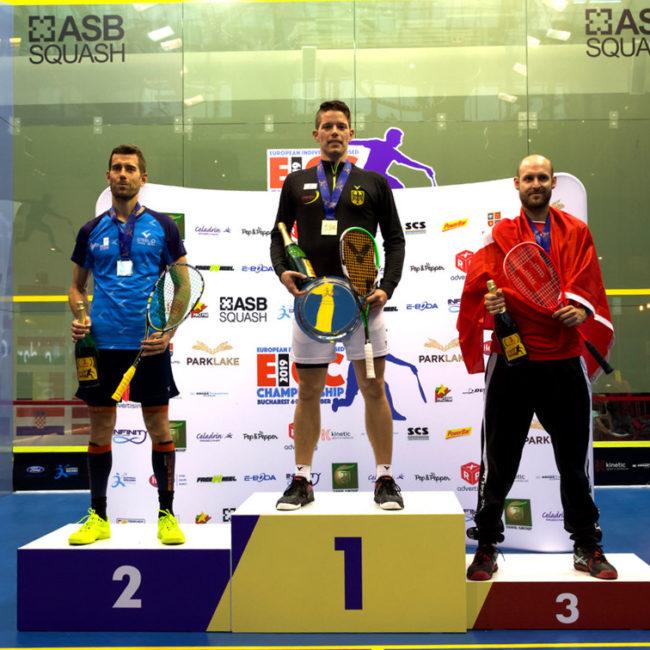 Borja Golán Subcampeón de Europa Individual 2019