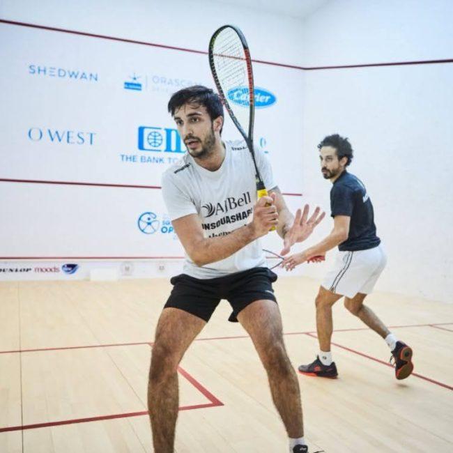 Pajares, Golán y López en El Gouna International Squash Open