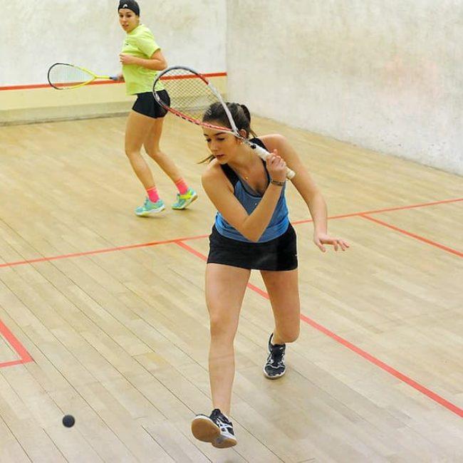 Resultados parciales y totales de la Liga Española de Squash femenina