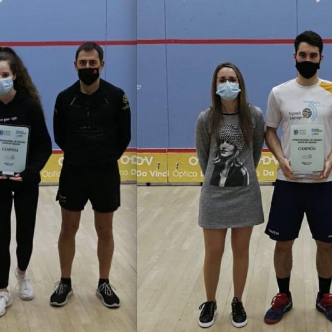 Riveiro y Gómez campeones del I Open Xunta de Galicia