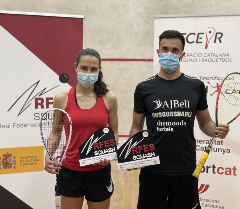 Marta Domínguez e Iker Pajares, campeones de España Absolutos 2021