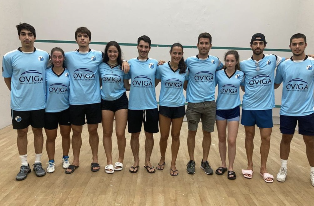Galicia, campeona de España de squash